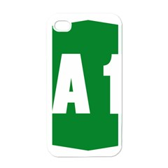 Autostrada A1 Apple Iphone 4 Case (white) by abbeyz71