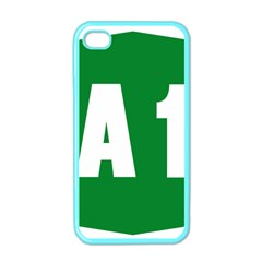 Autostrada A1 Apple Iphone 4 Case (color) by abbeyz71