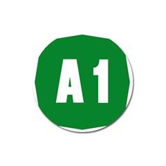 Autostrada A1 Magnet 3  (round) by abbeyz71