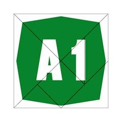 Autostrada A1 Acrylic Tangram Puzzle (6  X 6 ) by abbeyz71