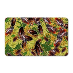 Cockroaches Magnet (rectangular) by SuperPatterns