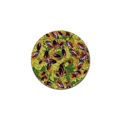 Cockroaches Golf Ball Marker (4 Pack) by SuperPatterns