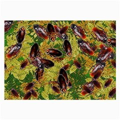 Cockroaches Large Glasses Cloth (2 Side) by SuperPatterns