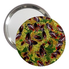 Cockroaches 3  Handbag Mirrors by SuperPatterns