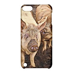 Happy Pigs Apple Ipod Touch 5 Hardshell Case With Stand by DeneWestUK
