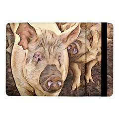 Happy Pigs Samsung Galaxy Tab Pro 10 1  Flip Case by DeneWestUK