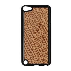 Giraffe pattern animal print  Apple iPod Touch 5 Case (Black) by paulaoliveiradesign