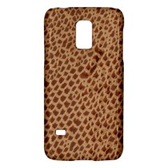 Giraffe Pattern Animal Print  Galaxy S5 Mini by paulaoliveiradesign