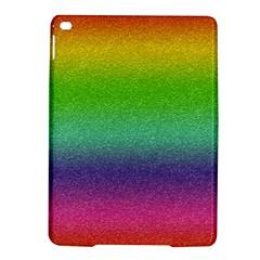 Metallic Rainbow Glitter Texture Ipad Air 2 Hardshell Cases