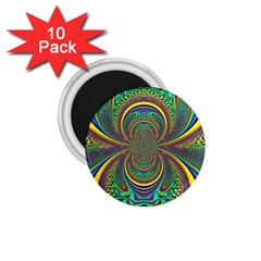Hot Hot Summer B 1.75  Magnets (10 pack)  by MoreColorsinLife
