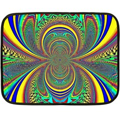 Hot Hot Summer B Fleece Blanket (mini) by MoreColorsinLife