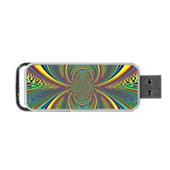 Hot Hot Summer B Portable Usb Flash (one Side) by MoreColorsinLife