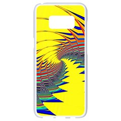 Hot Hot Summer C Samsung Galaxy S8 White Seamless Case by MoreColorsinLife