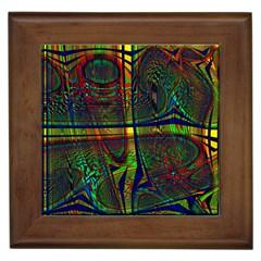 Hot Hot Summer D Framed Tiles by MoreColorsinLife