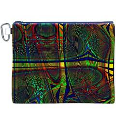 Hot Hot Summer D Canvas Cosmetic Bag (xxxl) by MoreColorsinLife