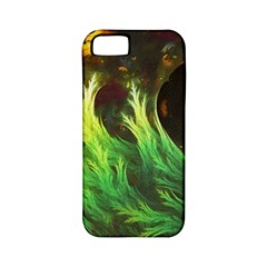 A Seaweed s Deepdream Of Faded Fractal Fall Colors Apple Iphone 5 Classic Hardshell Case (pc+silicone) by jayaprime