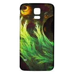 A Seaweed s Deepdream Of Faded Fractal Fall Colors Samsung Galaxy S5 Back Case (white) by beautifulfractals