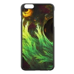 A Seaweed s Deepdream Of Faded Fractal Fall Colors Apple Iphone 6 Plus/6s Plus Black Enamel Case by jayaprime