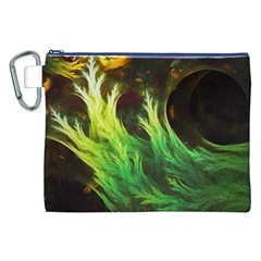 A Seaweed s Deepdream Of Faded Fractal Fall Colors Canvas Cosmetic Bag (xxl) by beautifulfractals