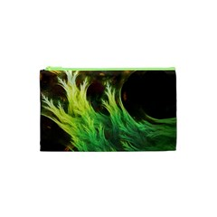 A Seaweed s Deepdream Of Faded Fractal Fall Colors Cosmetic Bag (xs) by beautifulfractals