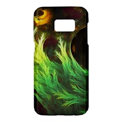 A Seaweed s Deepdream Of Faded Fractal Fall Colors Samsung Galaxy S7 Hardshell Case  by beautifulfractals