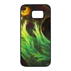 A Seaweed s Deepdream Of Faded Fractal Fall Colors Samsung Galaxy S7 Edge Black Seamless Case by jayaprime