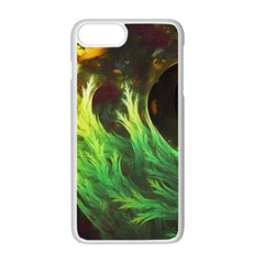 A Seaweed s Deepdream Of Faded Fractal Fall Colors Apple Iphone 7 Plus White Seamless Case by beautifulfractals