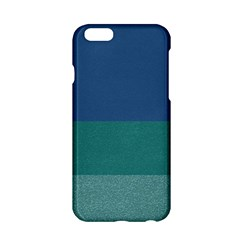 Blue Gradient Glitter Texture Pattern  Apple Iphone 6/6s Hardshell Case by paulaoliveiradesign