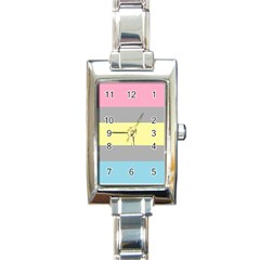 Demifluid Rectangle Italian Charm Watch by TailWags