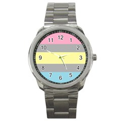 Demifluid Sport Metal Watch by TailWags