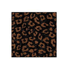Skin5 Black Marble & Brown Wood (r) Satin Bandana Scarf by trendistuff