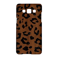 Skin5 Black Marble & Brown Wood Samsung Galaxy A5 Hardshell Case  by trendistuff
