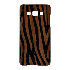 Skin4 Black Marble & Brown Wood (r) Samsung Galaxy A5 Hardshell Case  by trendistuff
