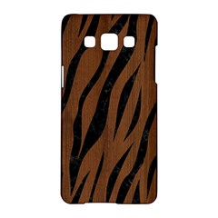 Skin3 Black Marble & Brown Wood (r) Samsung Galaxy A5 Hardshell Case  by trendistuff