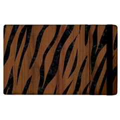 Skin3 Black Marble & Brown Wood (r) Apple Ipad Pro 12 9   Flip Case by trendistuff