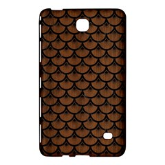 Scales3 Black Marble & Brown Wood (r) Samsung Galaxy Tab 4 (8 ) Hardshell Case  by trendistuff