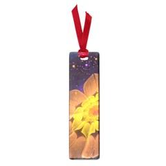 Beautiful Violet & Peach Primrose Fractal Flowers Small Book Marks by jayaprime