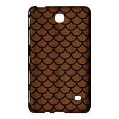 Scales1 Black Marble & Brown Wood (r) Samsung Galaxy Tab 4 (7 ) Hardshell Case  by trendistuff