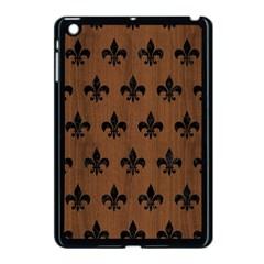 Royal1 Black Marble & Brown Wood Apple Ipad Mini Case (black)
