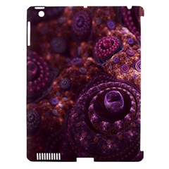 Buried Pirate Treasure Of Fractal Pearls And Coins Apple Ipad 3/4 Hardshell Case (compatible With Smart Cover) by beautifulfractals