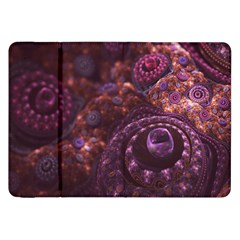 Buried Pirate Treasure Of Fractal Pearls And Coins Samsung Galaxy Tab 8 9  P7300 Flip Case by beautifulfractals