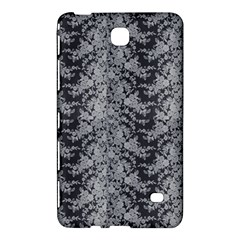 Black Floral Lace Pattern Samsung Galaxy Tab 4 (8 ) Hardshell Case  by paulaoliveiradesign