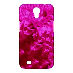 Hot Pink Floral Pattern Samsung Galaxy Mega 6 3  I9200 Hardshell Case by paulaoliveiradesign