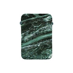 Green Marble Stone Texture Emerald  Apple Ipad Mini Protective Soft Cases by paulaoliveiradesign