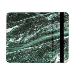 Green Marble Stone Texture Emerald  Samsung Galaxy Tab Pro 8 4  Flip Case by paulaoliveiradesign