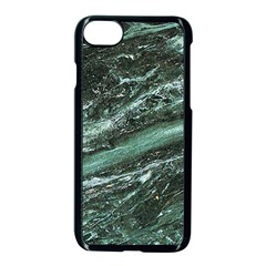 Green Marble Stone Texture Emerald  Apple Iphone 7 Seamless Case (black) by paulaoliveiradesign