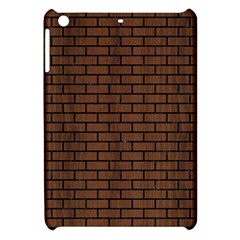 Brick1 Black Marble & Brown Wood (r) Apple Ipad Mini Hardshell Case by trendistuff