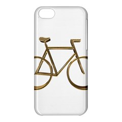 Elegant Gold Look Bicycle Cycling  Apple Iphone 5c Hardshell Case by yoursparklingshop