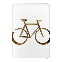 Elegant Gold Look Bicycle Cycling  Samsung Galaxy Tab Pro 10 1 Hardshell Case by yoursparklingshop