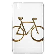 Elegant Gold Look Bicycle Cycling  Samsung Galaxy Tab Pro 8 4 Hardshell Case by yoursparklingshop